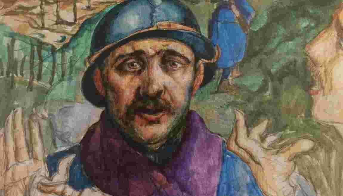 Exposition : les artistes dans la Légion étrangère pendant la Grande Guerre