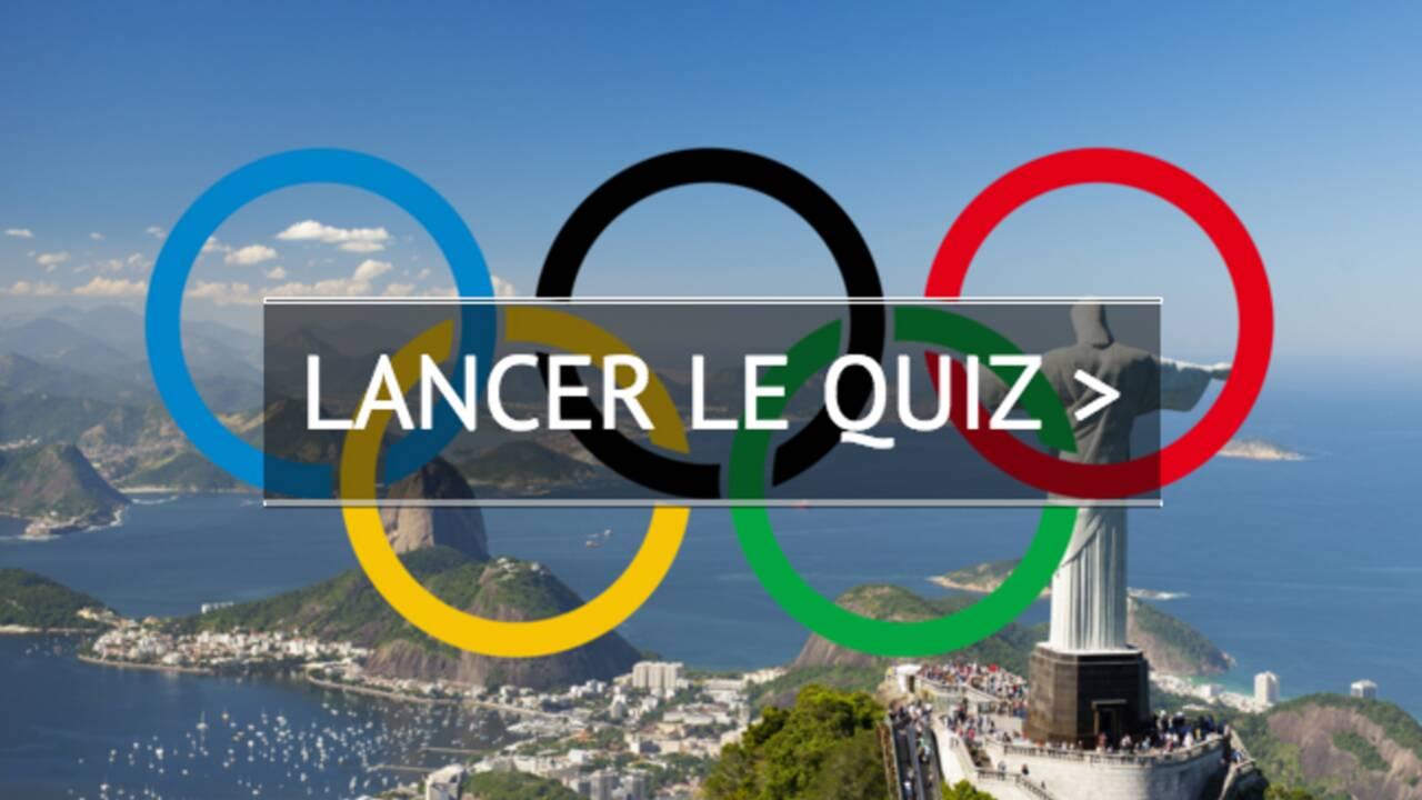 Quiz spécial Jeux Olympiques