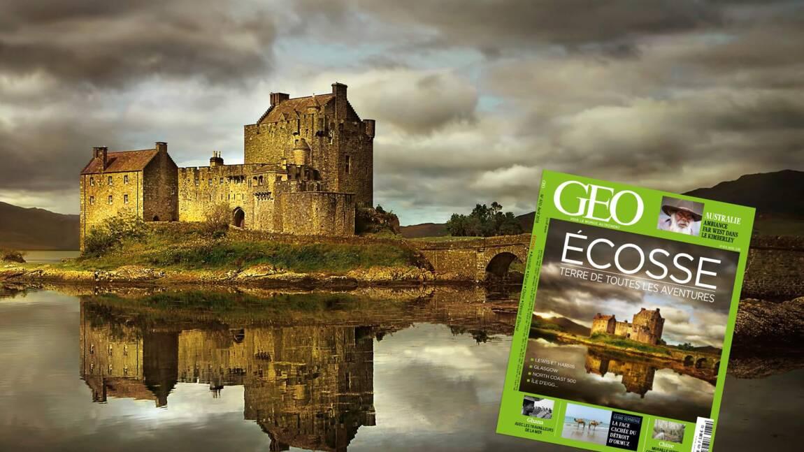 L'Ecosse dans le nouveau magazine GEO