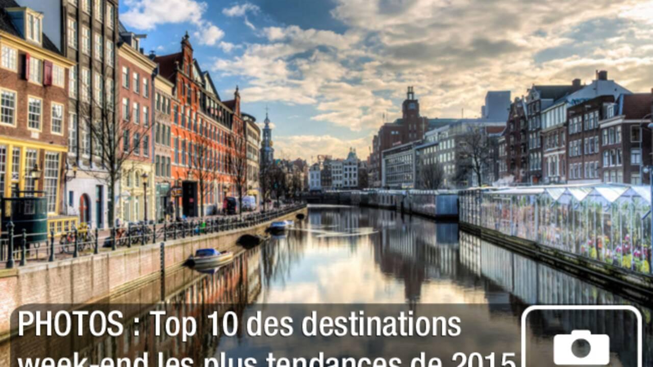 PHOTOS : Top 10 des destinations week-end les plus tendances