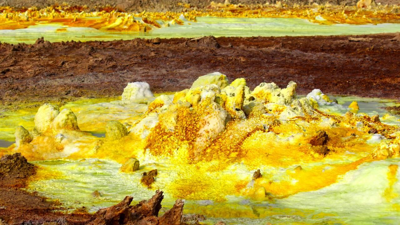 Sonder le Dallol en Ethiopie pour mieux comprendre la planète Mars