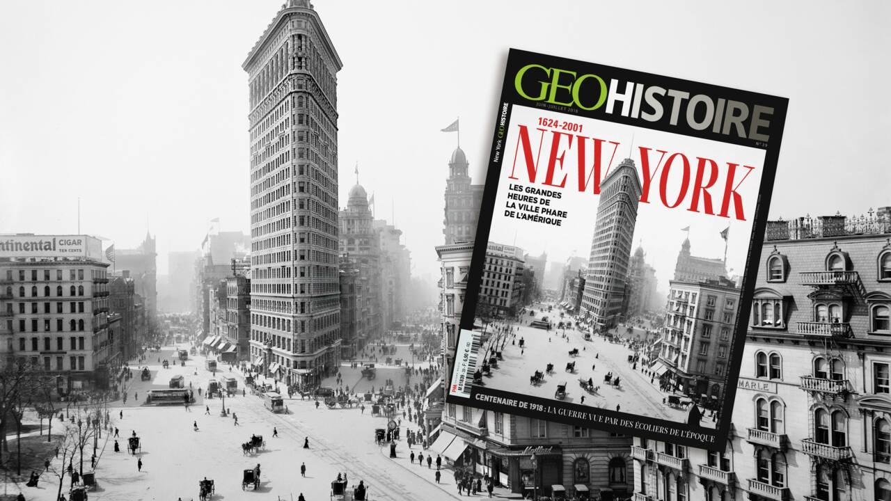 New York dans le nouveau GEO Histoire