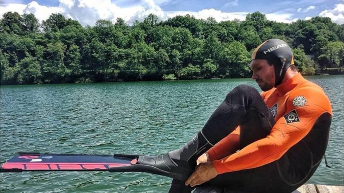 Le Français Rémi Camus se lance dans un tour du littoral français à la nage