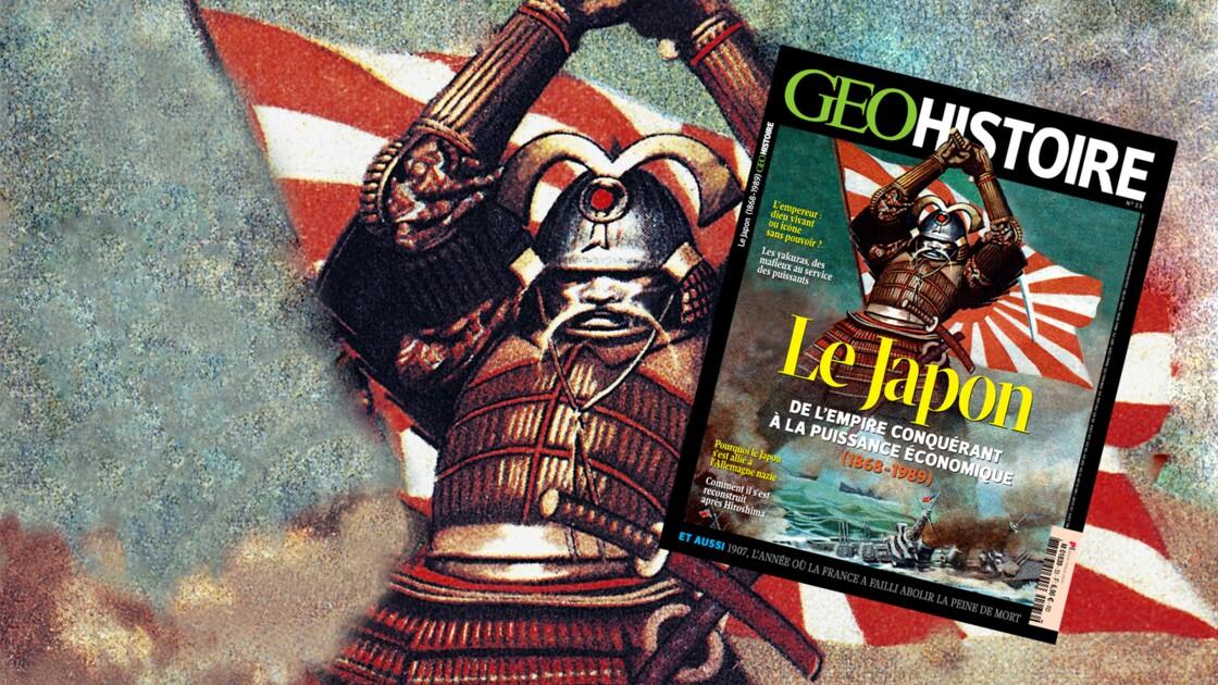 Le Japon dans le nouveau numéro de GEO Histoire