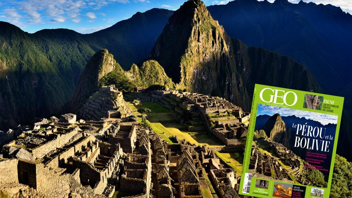Le Pérou et la Bolivie à l'honneur dans le nouveau magazine GEO