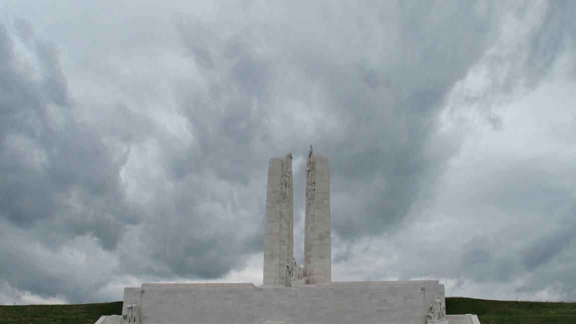Première guerre mondiale : le mémorial canadien de Vimy