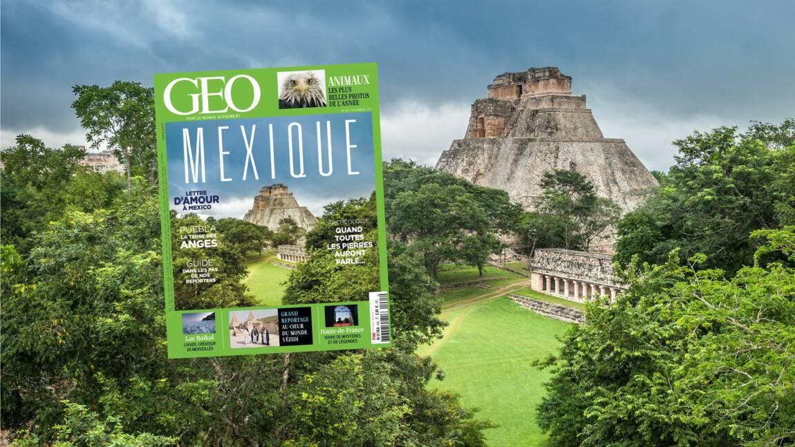 Le Mexique dans le nouveau numéro du magazine GEO
