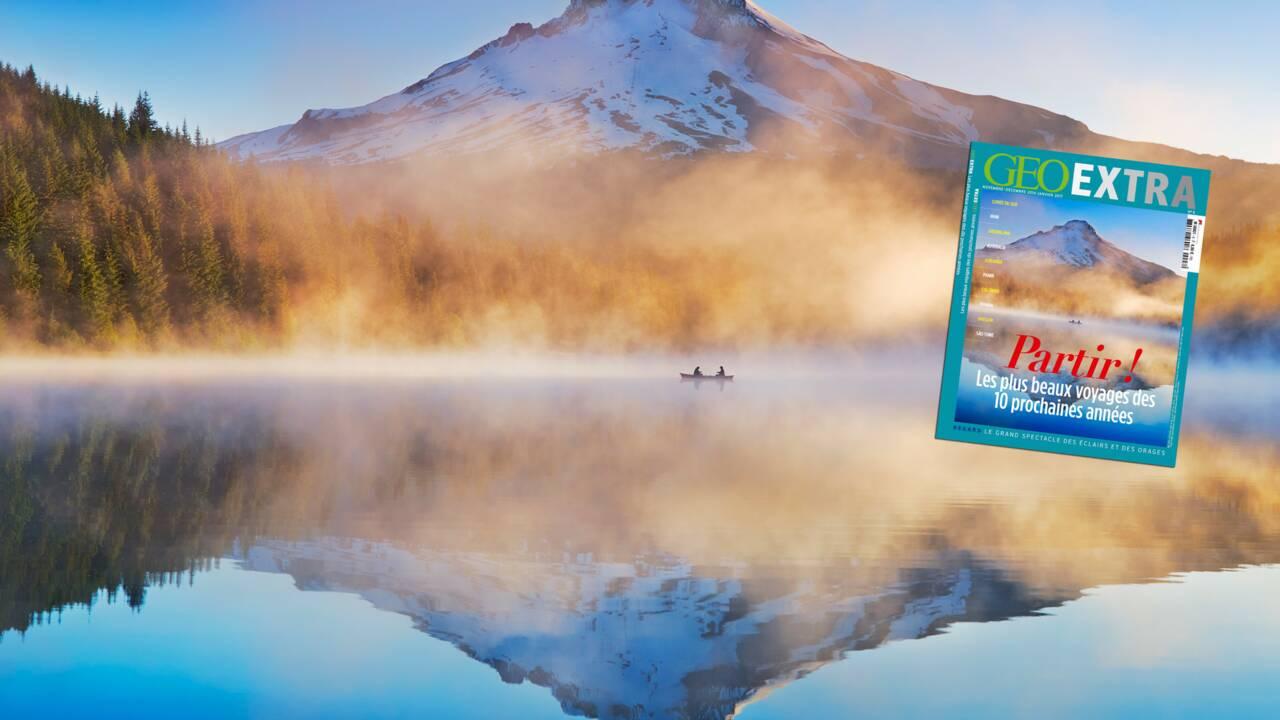 Les plus beaux voyages des 10 prochaines années dans le nouveau numéro de GEO Extra