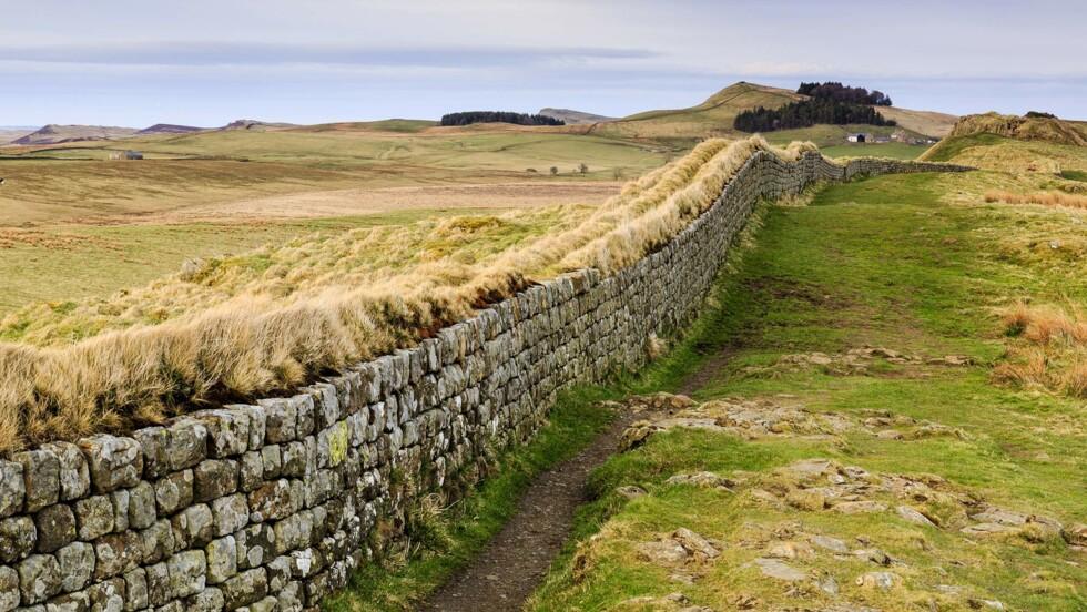 Balade à la frontière de l'Angleterre et de l'Ecosse le long du mur d'Hadrien