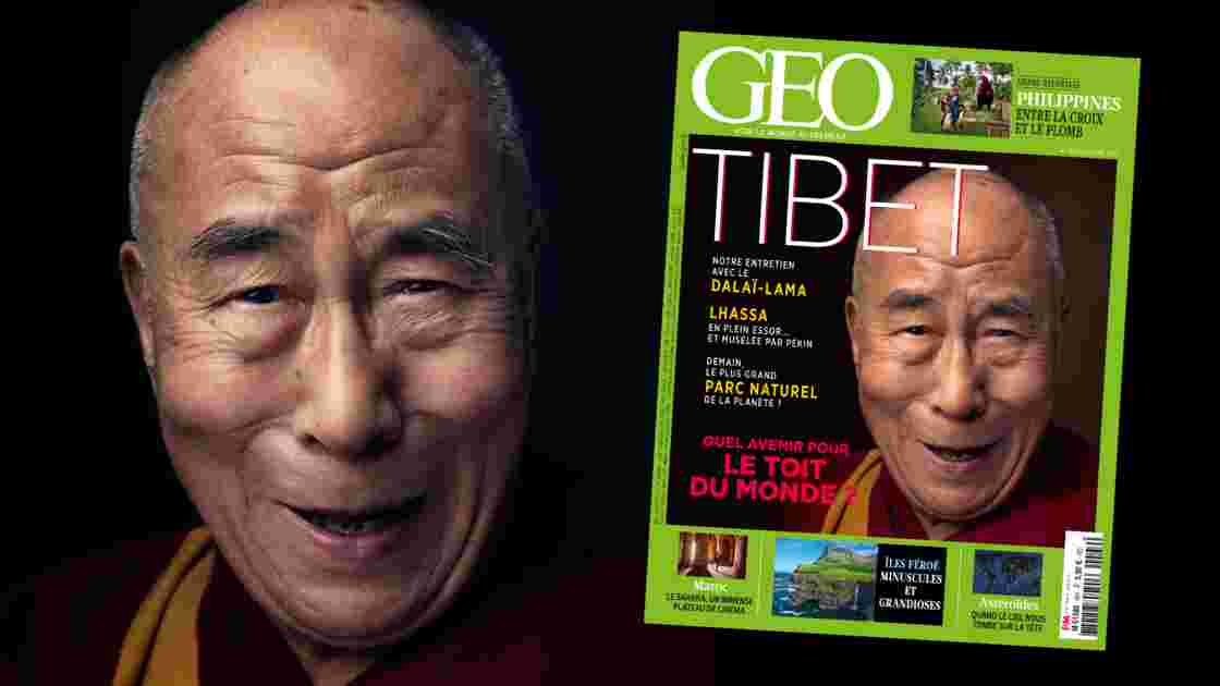 Le Tibet dans le nouveau numéro du magazine GEO