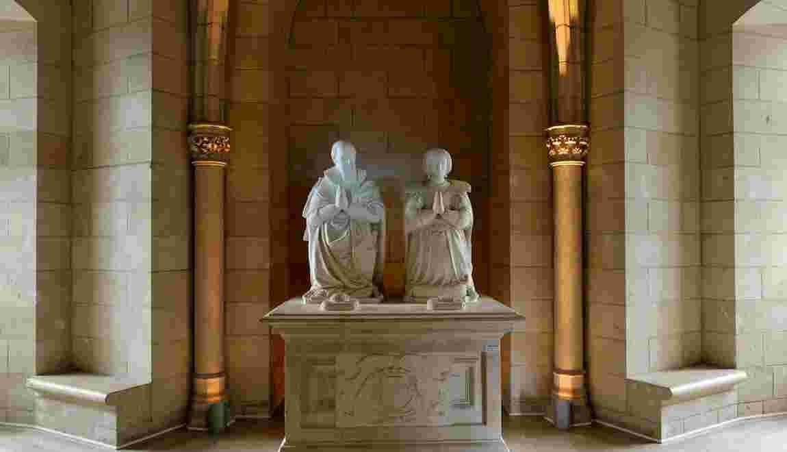Le tombeau de Sully à Nogent-le-Rotrou