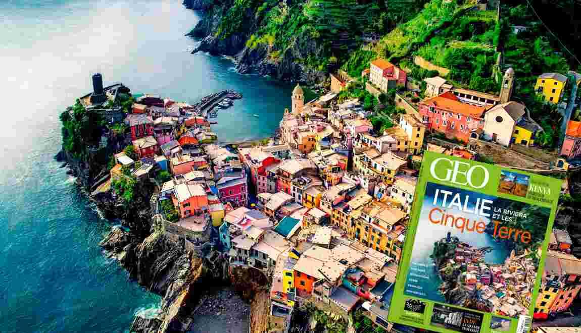 Les Cinque Terre dans le nouveau magazine GEO