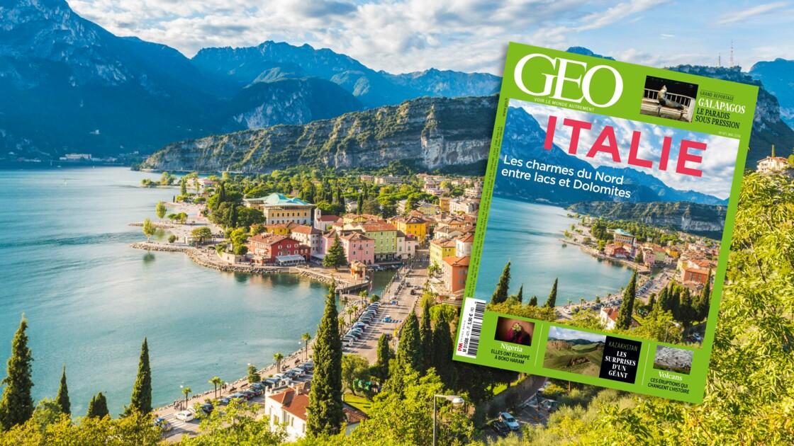 L'Italie du Nord dans le nouveau magazine GEO