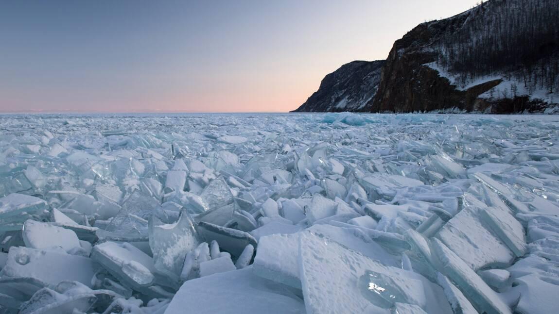 PHOTOS - Lac Baïkal, la perle glacée de Sibérie