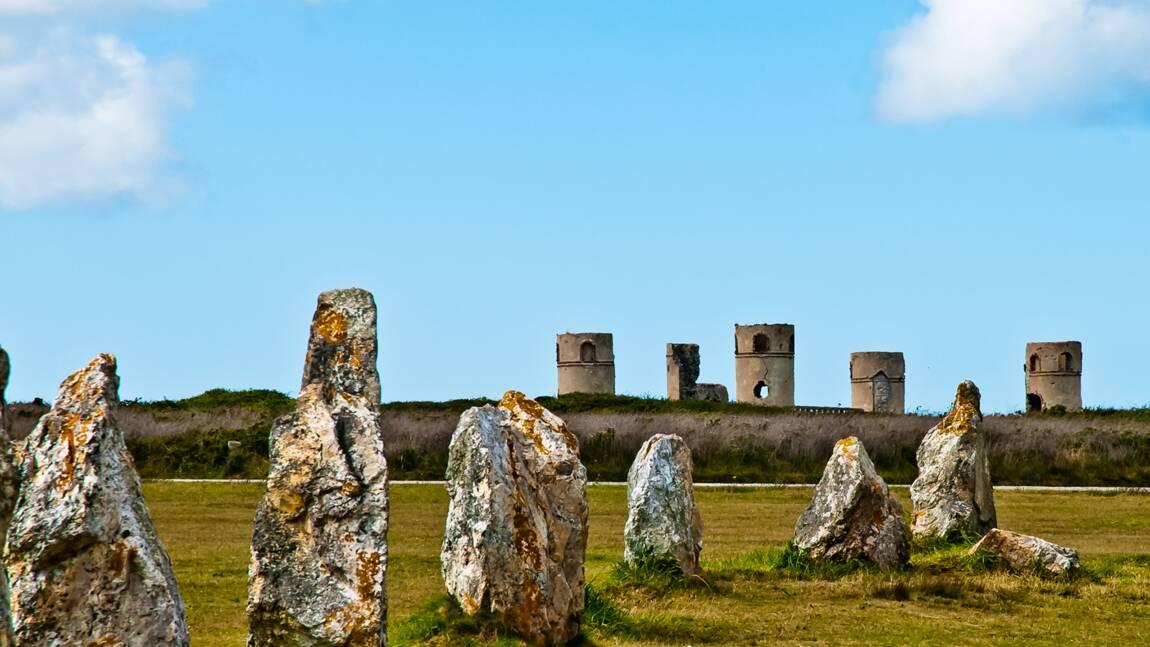 Le manoir et les menhirs de Camaret-sur-mer