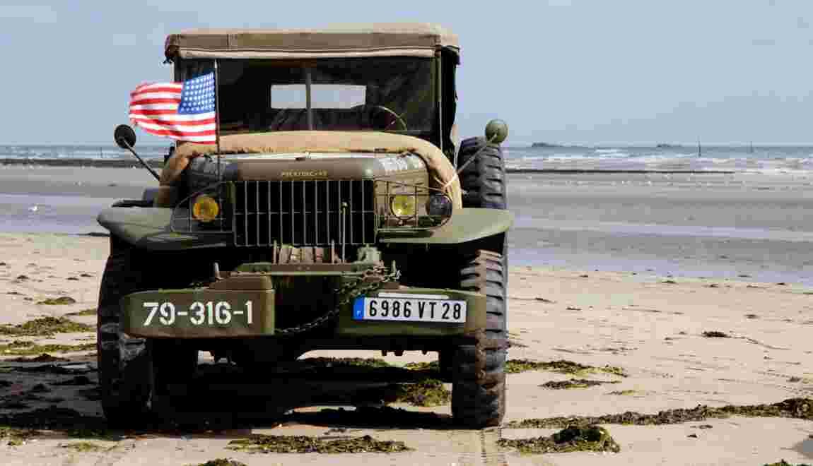 Normandie : virée en Jeep à Utah Beach