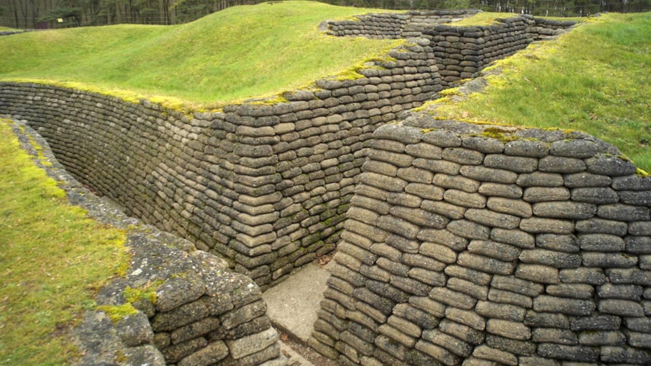 Guerre de 14-18 : À Vimy, dans les tranchées héroïques des Canadiens