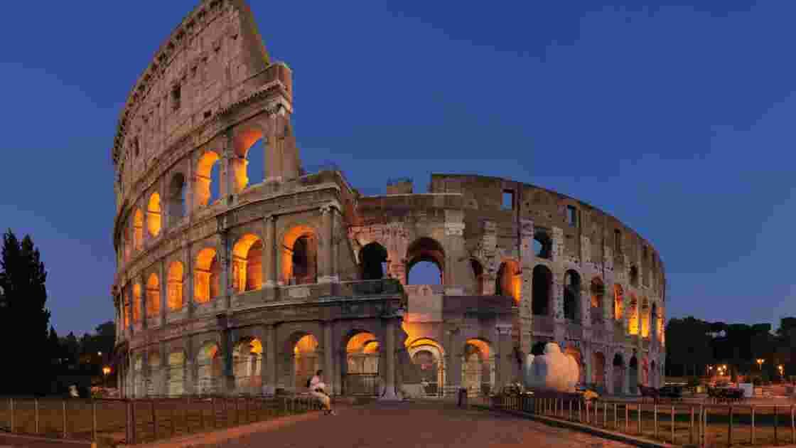 À Rome, le Colisée dévoilé