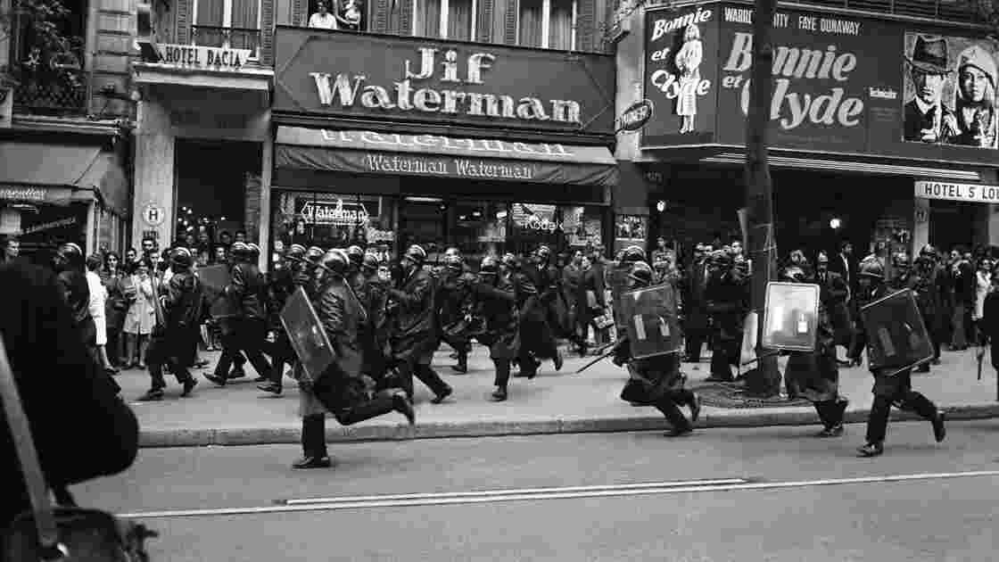 Mai 68 : les barricades vues du côté des CRS