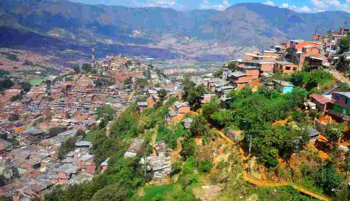Colombie : retour à la sécurité à Medellin