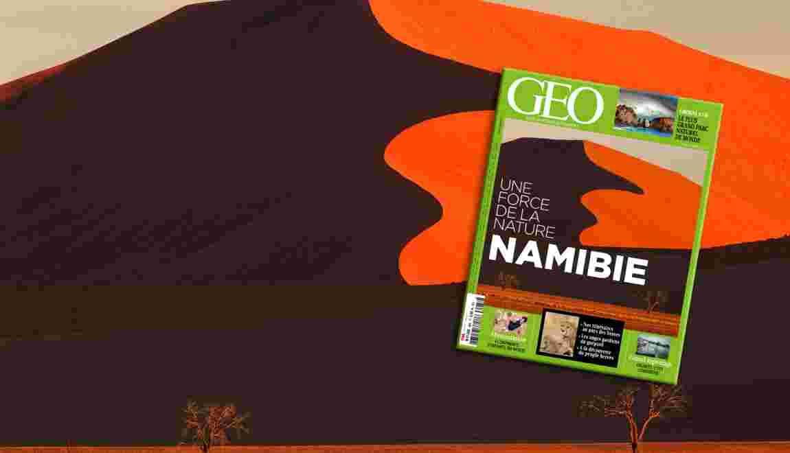 La Namibie dans le nouveau magazine GEO