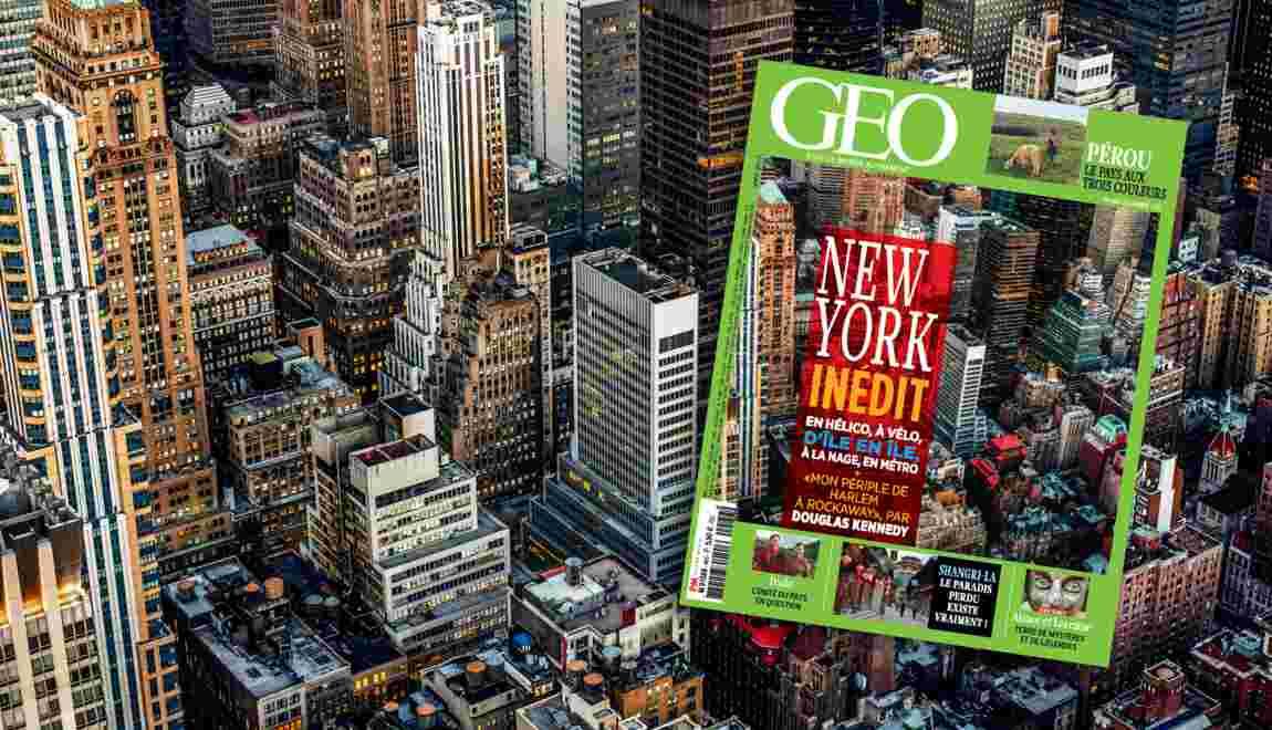New York dans le nouveau magazine GEO