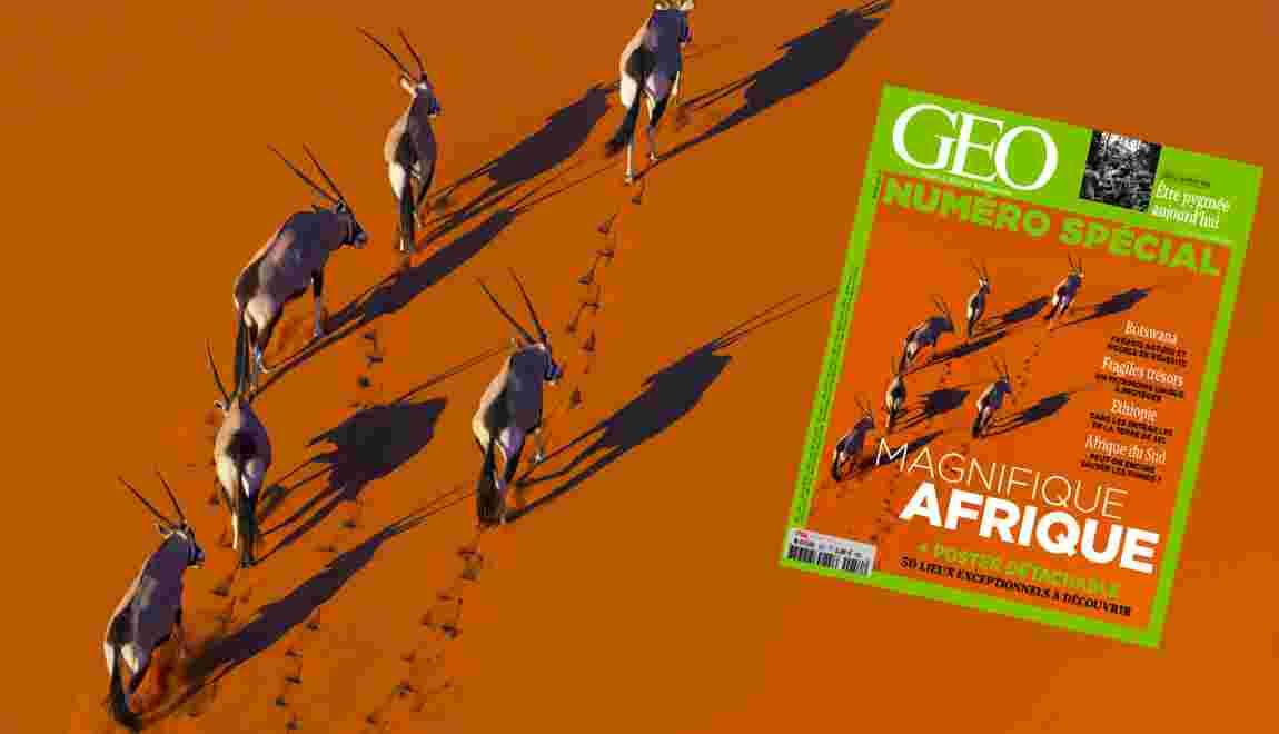 L'Afrique à l'honneur dans le nouveau magazine GEO
