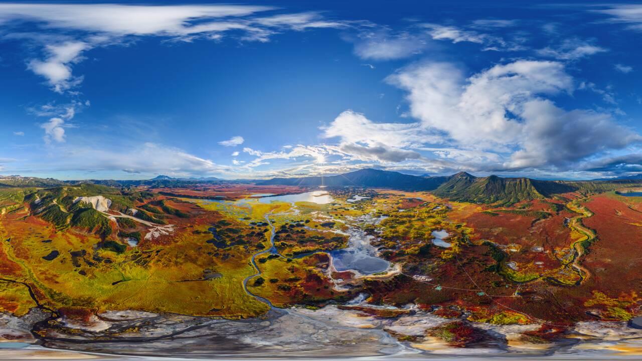 PHOTO 360° - Le Kamtchatka comme si vous y étiez