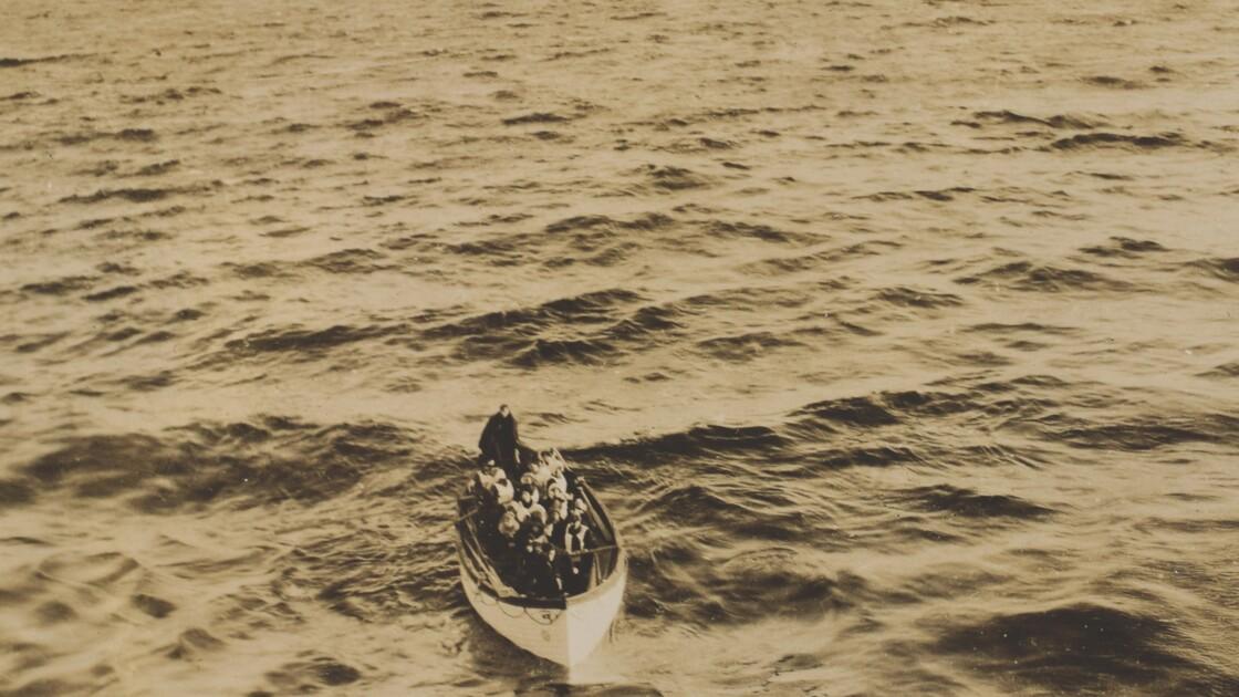 PHOTOS - Des images exceptionnelles des rescapés du Titanic