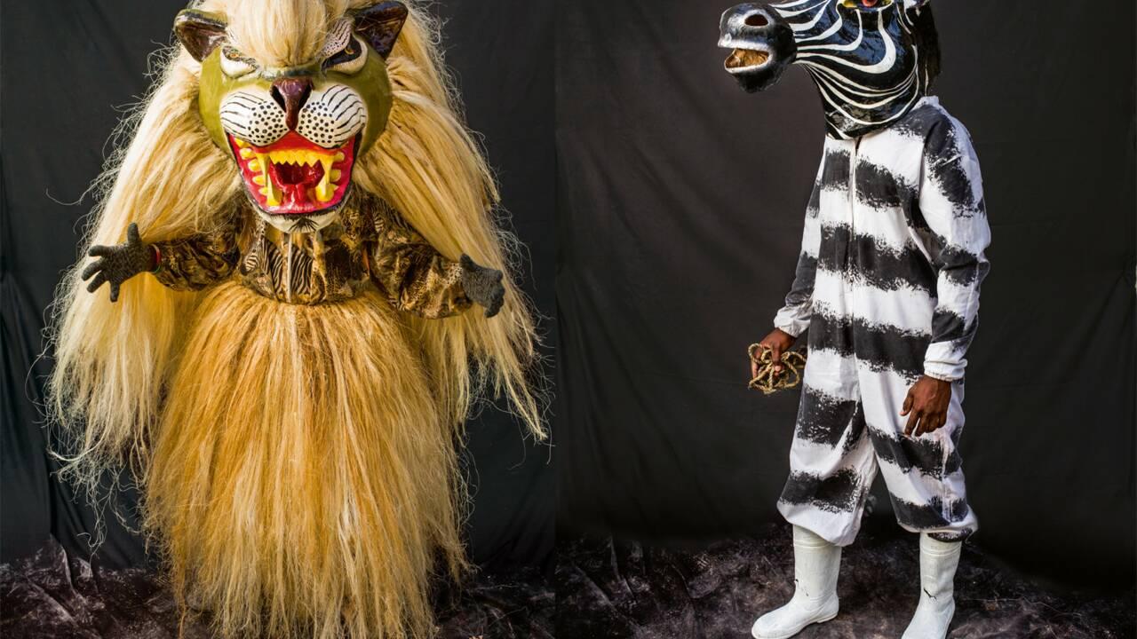 PHOTOS - Haïti : les fortes têtes du carnaval de Jacmel