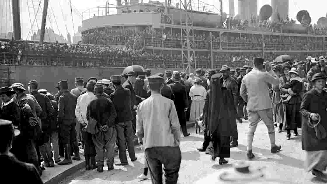 PHOTOS - Juin 1917, l'autre débarquement des Américains