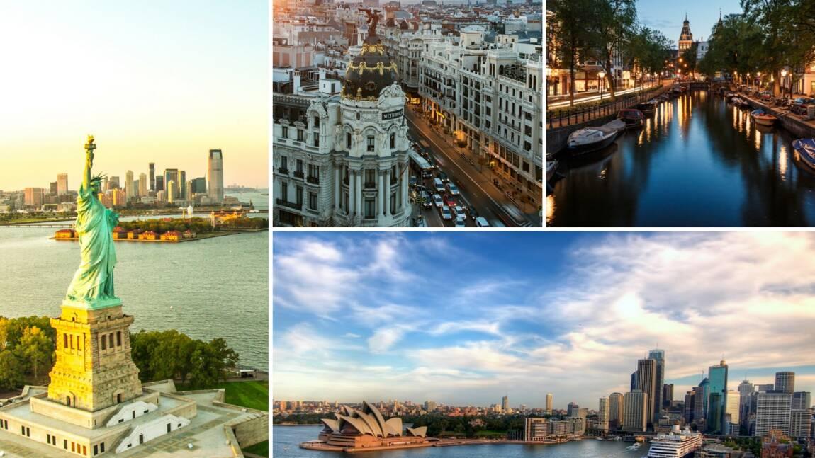 Le top 10 des villes qui font rêver les voyageurs