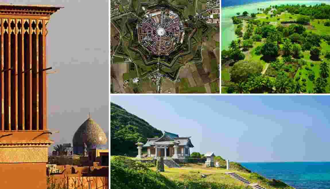 PHOTOS - Les nouveaux sites classés par l'Unesco