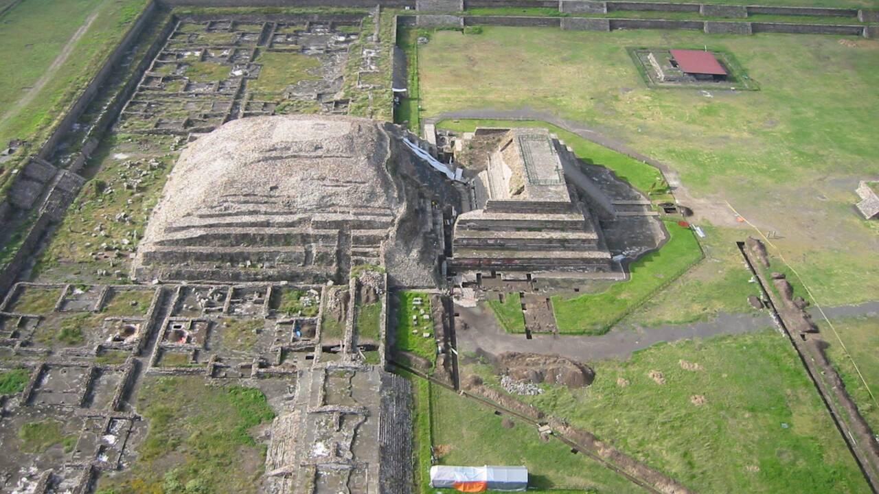 PHOTOS - Mexique : à Teotihuacán, le tunnel du Serpent à plumes dévoile ses secrets