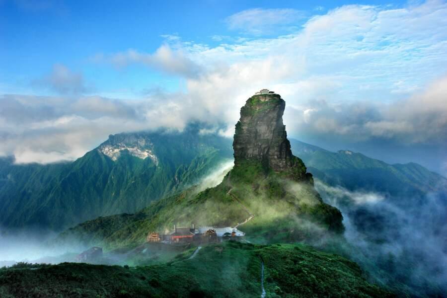 La réserve naturelle de Fanjingshan, en Chine