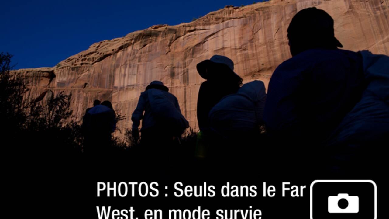 PHOTOS : Seuls dans le Far West, en mode survie