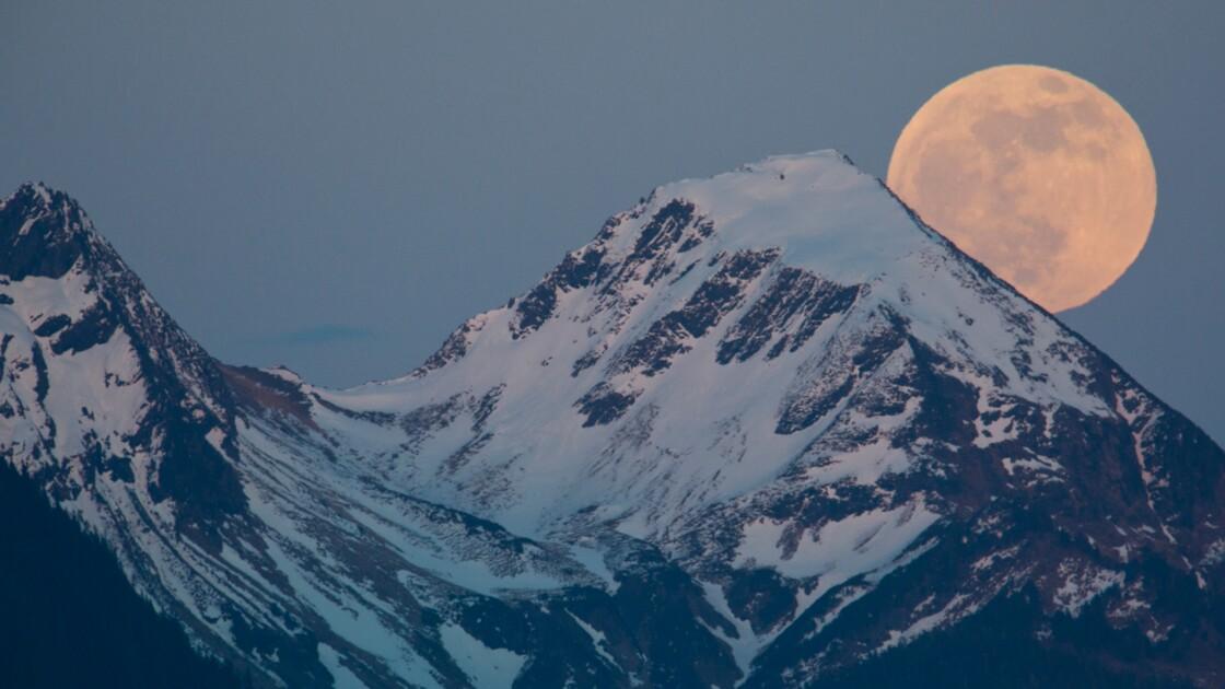 Cinq choses que vous ne saviez pas sur la Lune