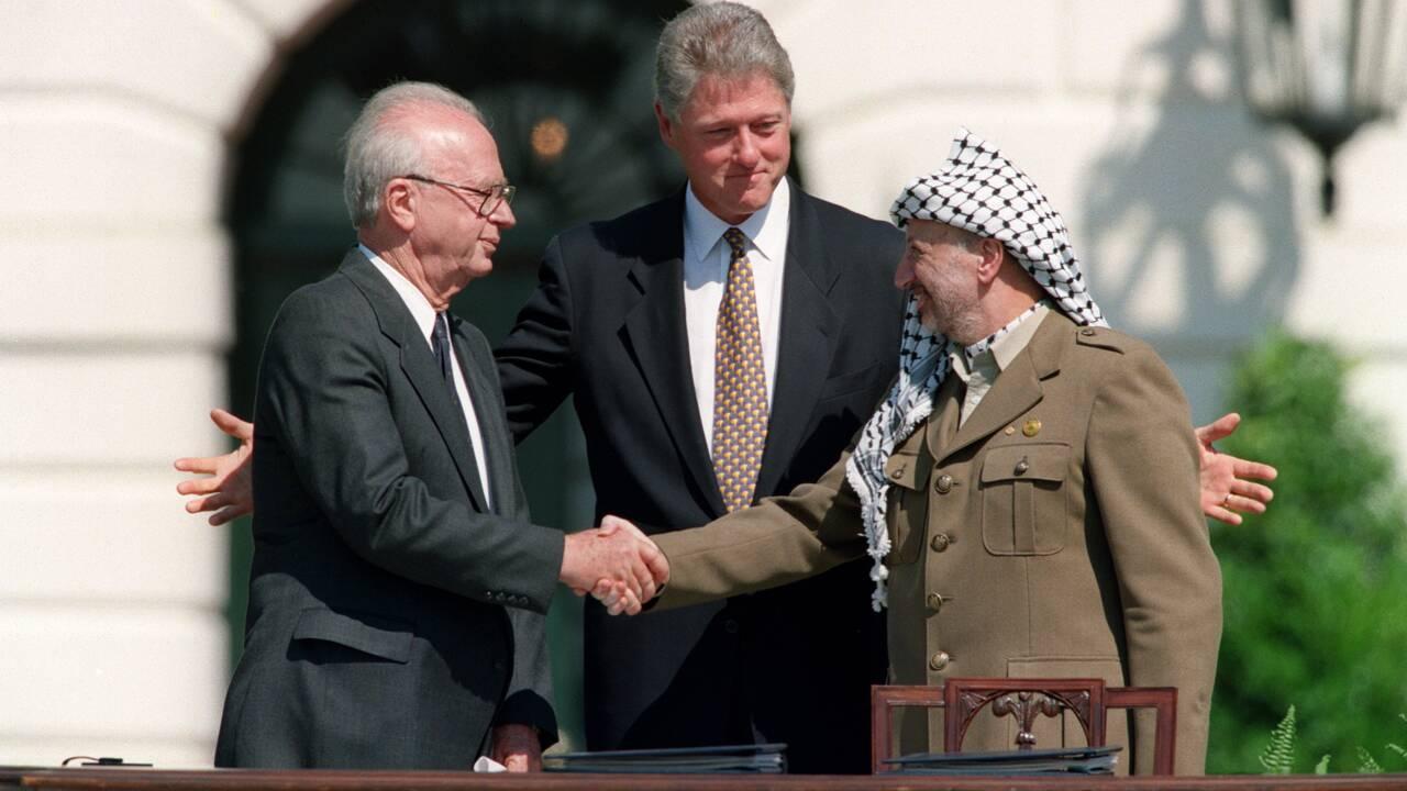 """Frédéric Encel : """"Les accords d'Oslo ont péché par excès d'optimisme"""""""