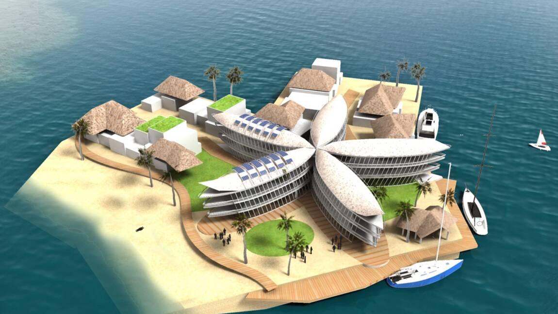 Des villes flottantes en Polynésie française ?