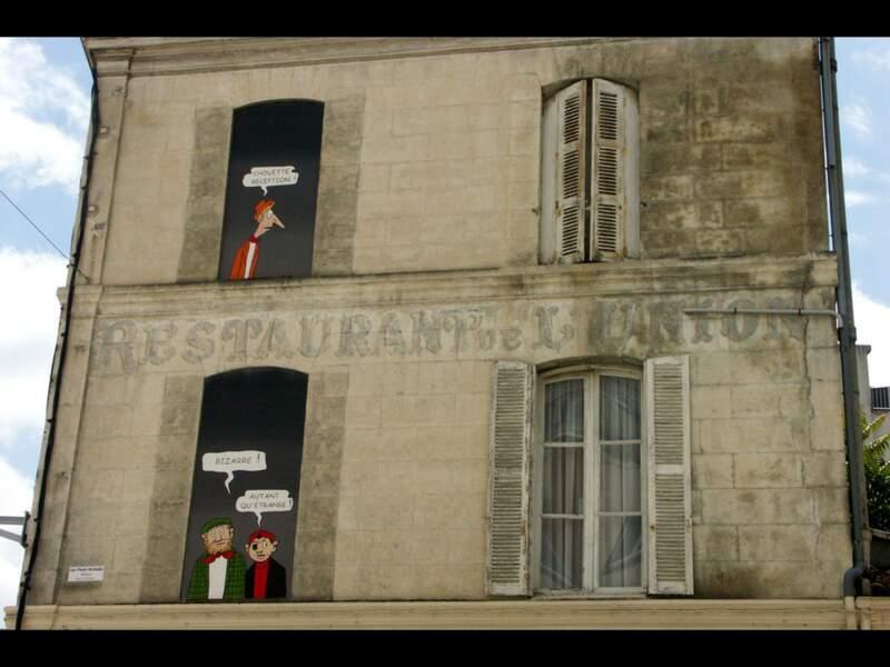 Diaporama n°1 : Angoulême : Buller dans la capitale de la BD