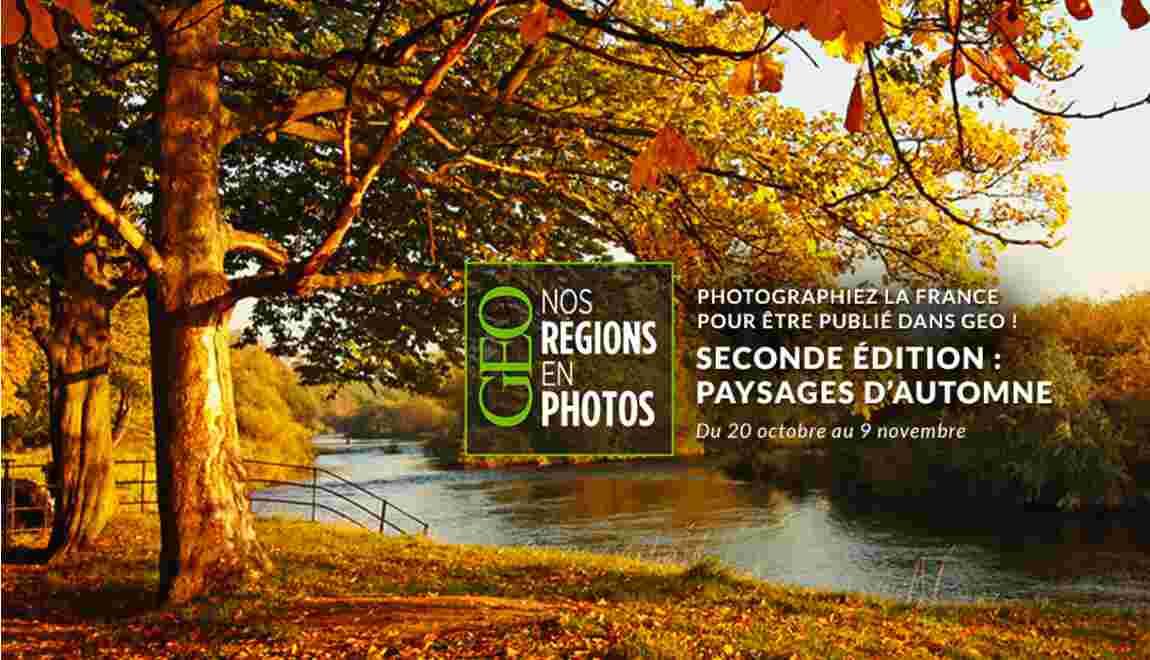 """Grand concours GEO """"Nos régions en photos"""" - Deuxième édition"""