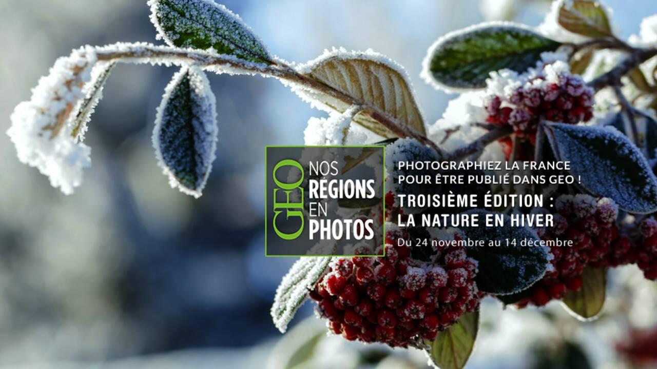 """Grand concours GEO """"Nos régions en photos"""" - Troisième édition"""