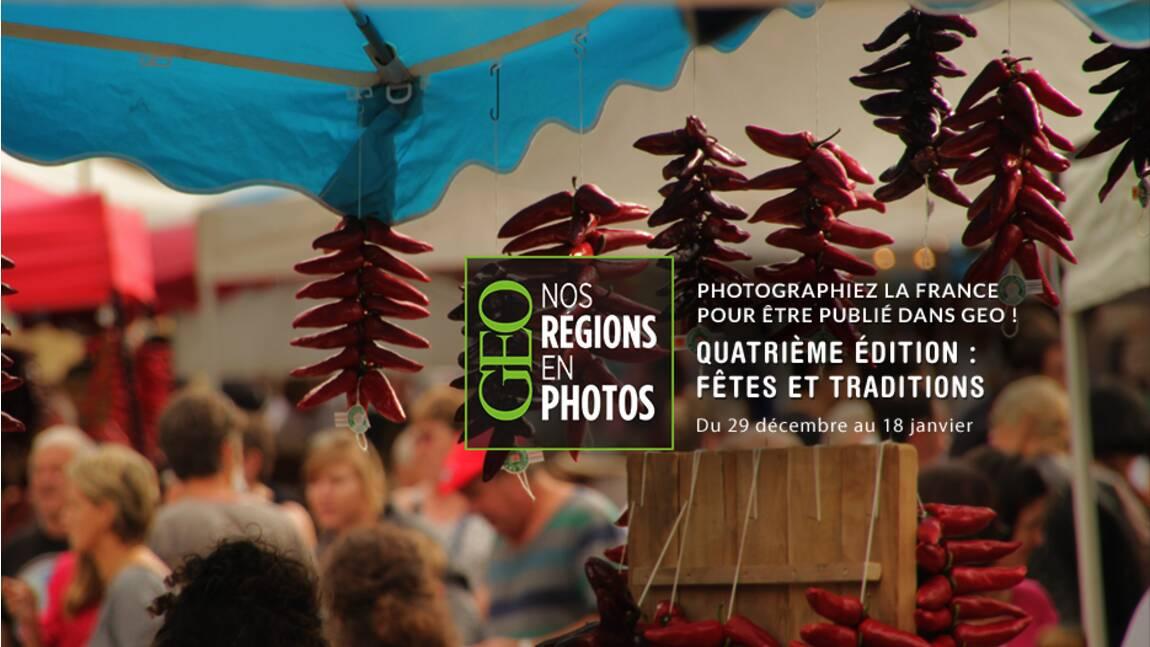 """Grand concours GEO """"Nos régions en photos"""" - Quatrième édition"""