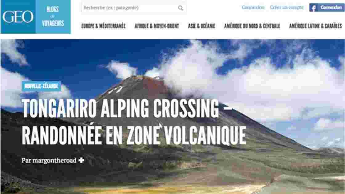 GEO lance GEO - Blogs de Voyageurs