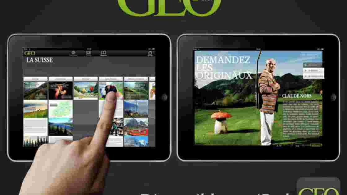 Partez à la découverte de la Suisse, avec la nouvelle édition de GEO sur l'iPad