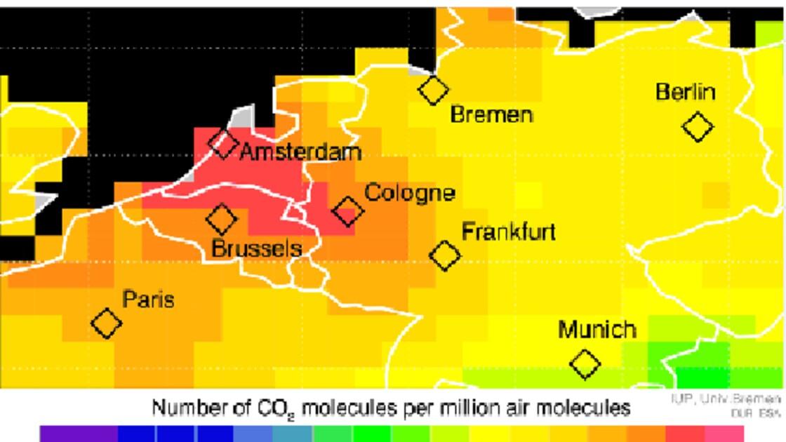 Première cartographie régionale de nos émissions de CO2