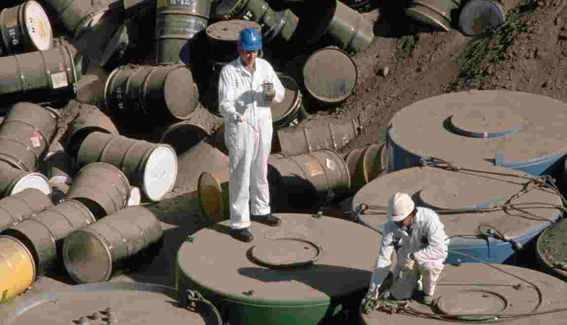 Greenpeace veut un moratoire sur l'exportation des déchets nucléaires