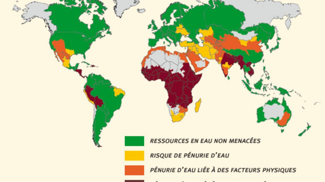 L'eau : une ressource de plus en plus menacée