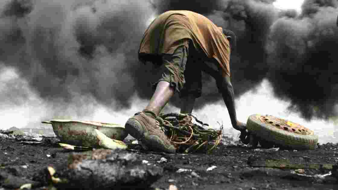 """Le Ghana : poubelle pour les """"e-déchets"""""""