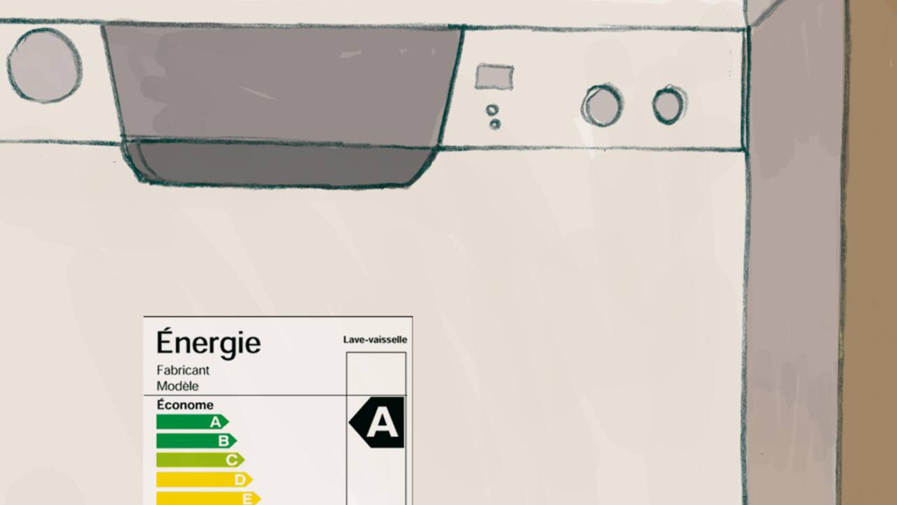 Électroménager : priorité à l'étiquette